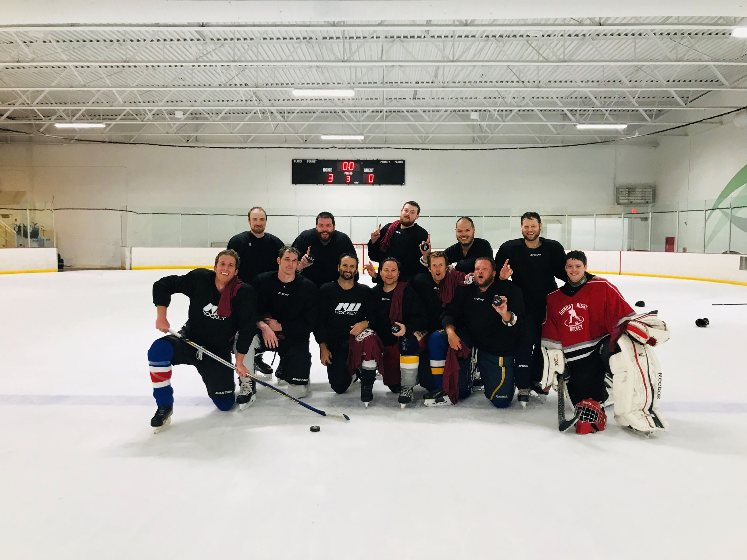 Winter 19 Novice League Champions: Canadiens